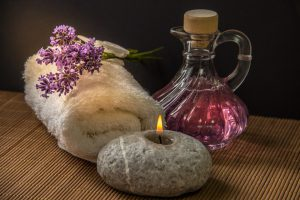 masaż i aromaterapia